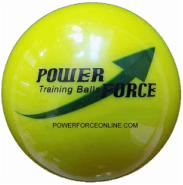 Weighted Training Softball for Batting & Hitting. Total Control Ball